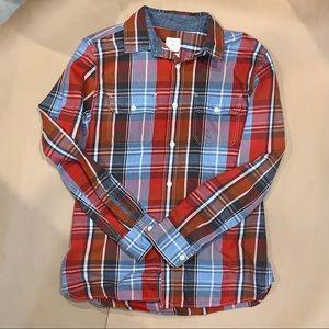 Gap Men's M Cotton flannel shirt